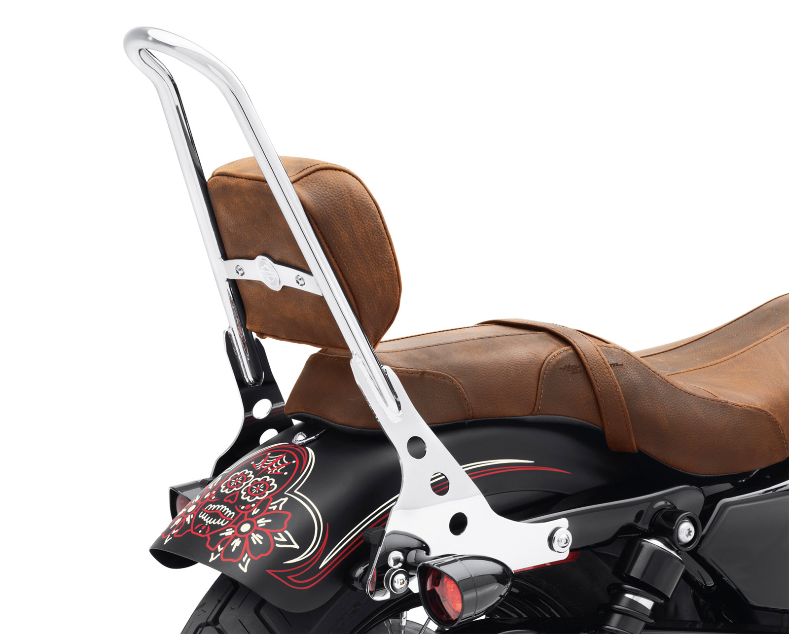 52300040 one piece detachable sissy bar upright chrome at thunderbike shop. Black Bedroom Furniture Sets. Home Design Ideas
