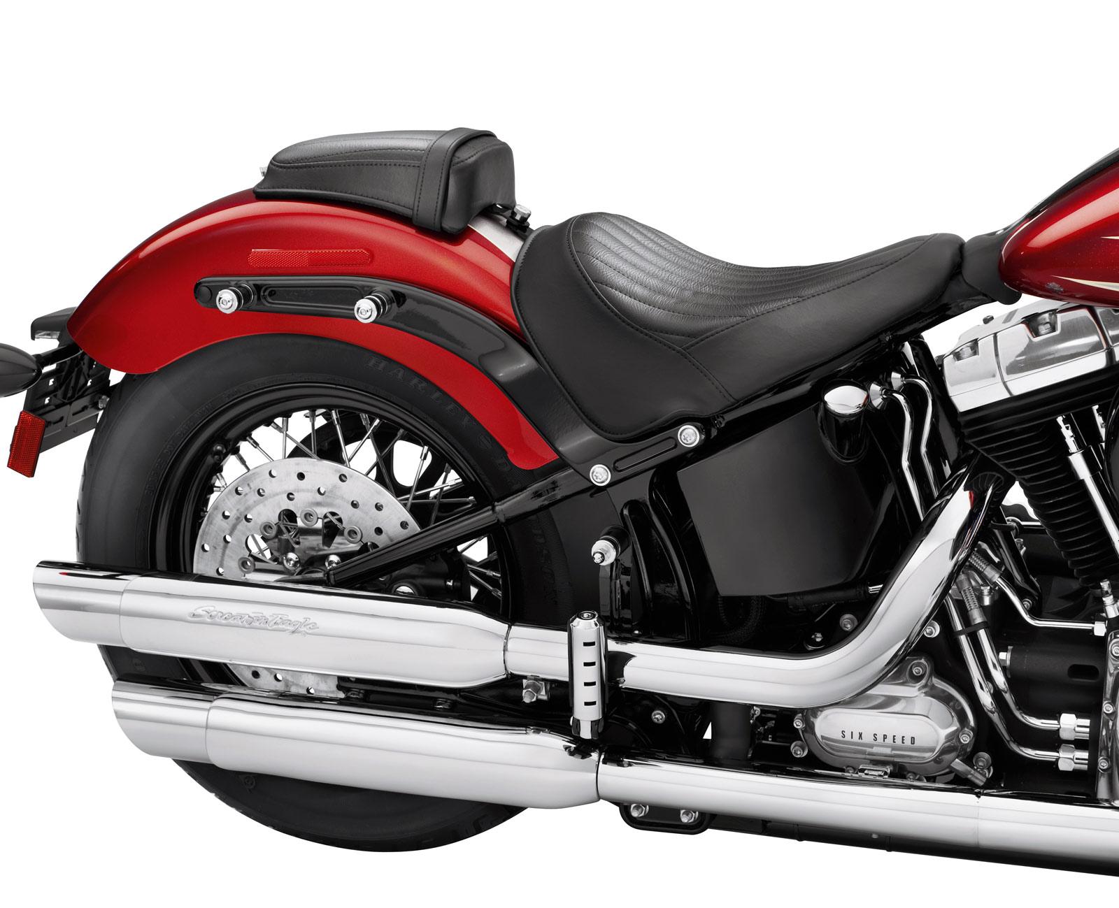 Driver Backrest Tech for Harley Softail Slim 12-17