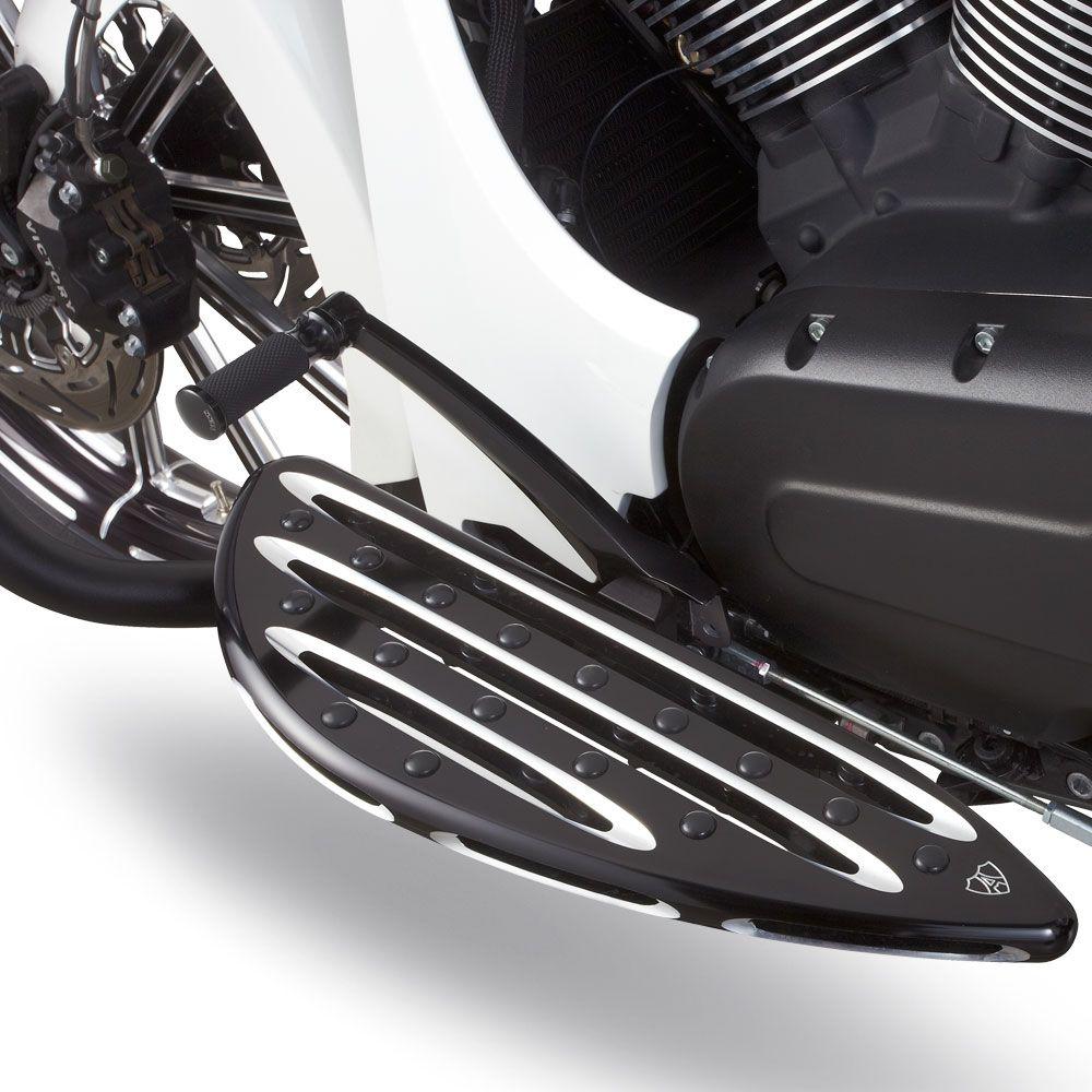 Arlen Ness Smoothie Foot Pegs for Harley Models Footpegs Black