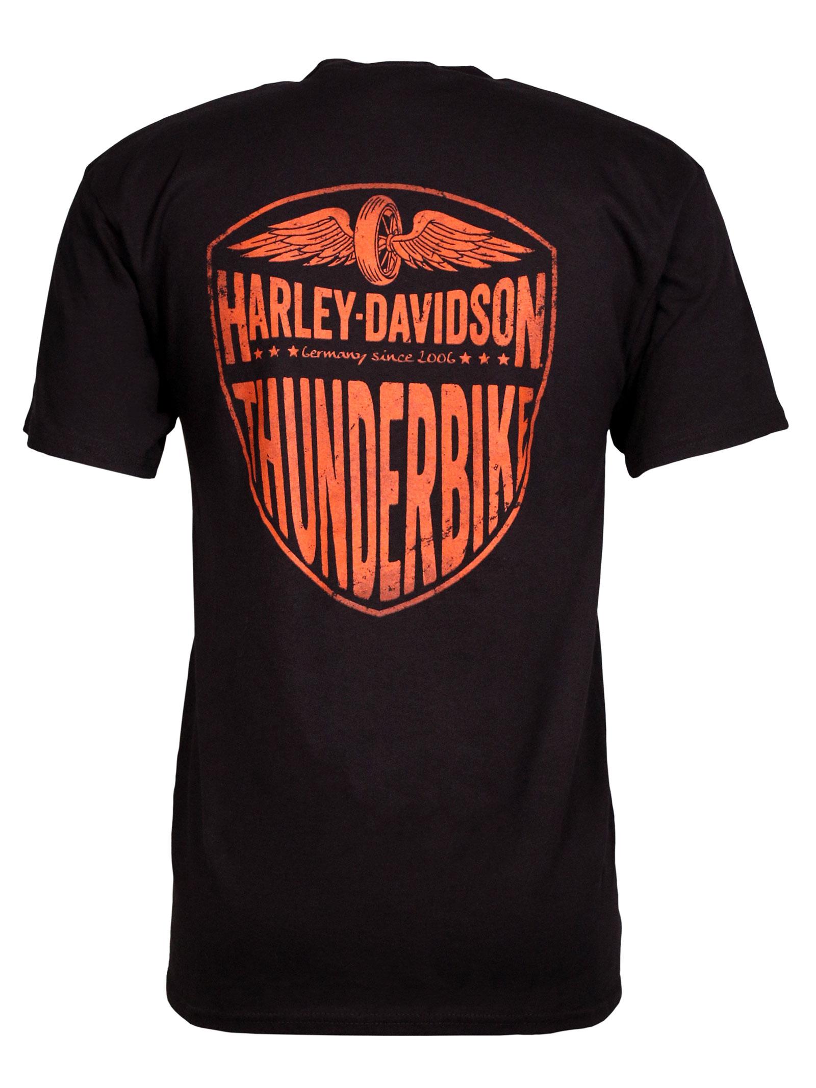 harley davidson t shirt soulful affliction at thunderbike shop. Black Bedroom Furniture Sets. Home Design Ideas