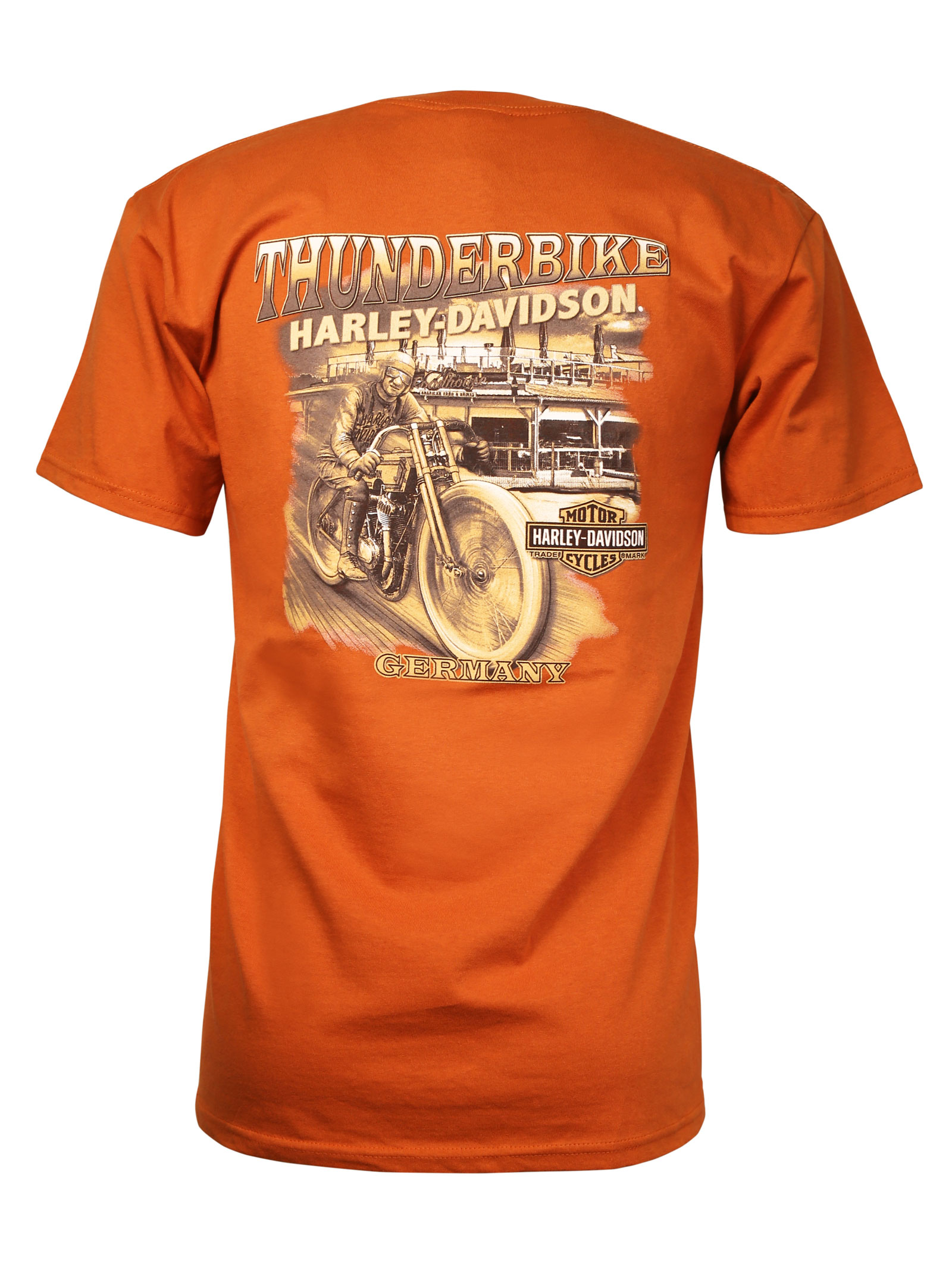 harley davidson t shirt empowered heritage at thunderbike shop. Black Bedroom Furniture Sets. Home Design Ideas