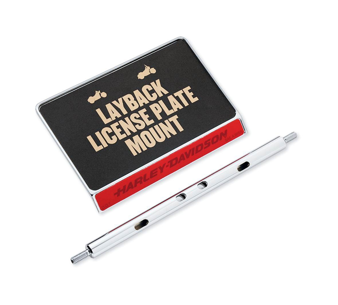 60215-06 Layback Nummernschild und Blinkerverlegung im Thunderbike Shop