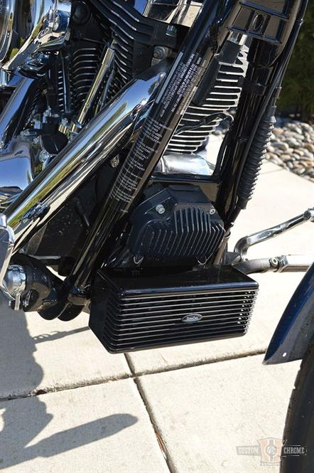 Ultracool Oil Cooler Black For Dyna Fxd 93 Later Non