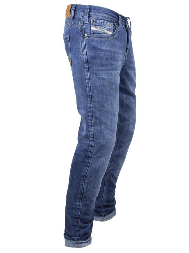 John Doe Original Herren Biker Jeans light blue bei Thunderbike