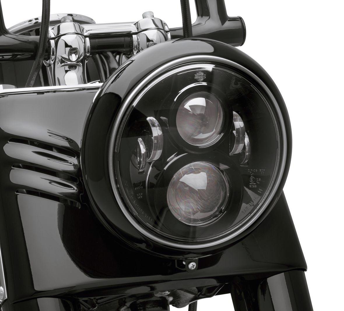 67700267 daymaker 7 projector led schwarz softail ab 91. Black Bedroom Furniture Sets. Home Design Ideas