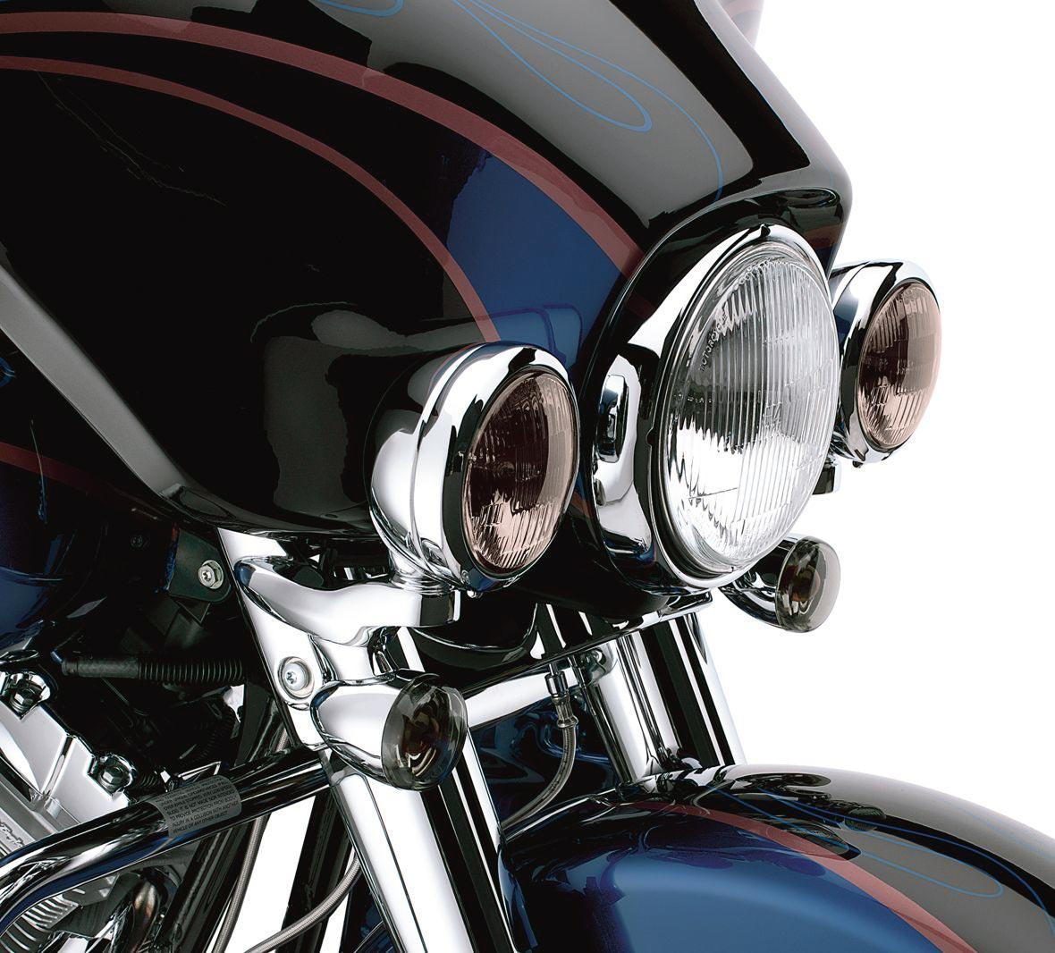 69818 06 Custom Auxiliary Lighting Bracket Kit Chrome At