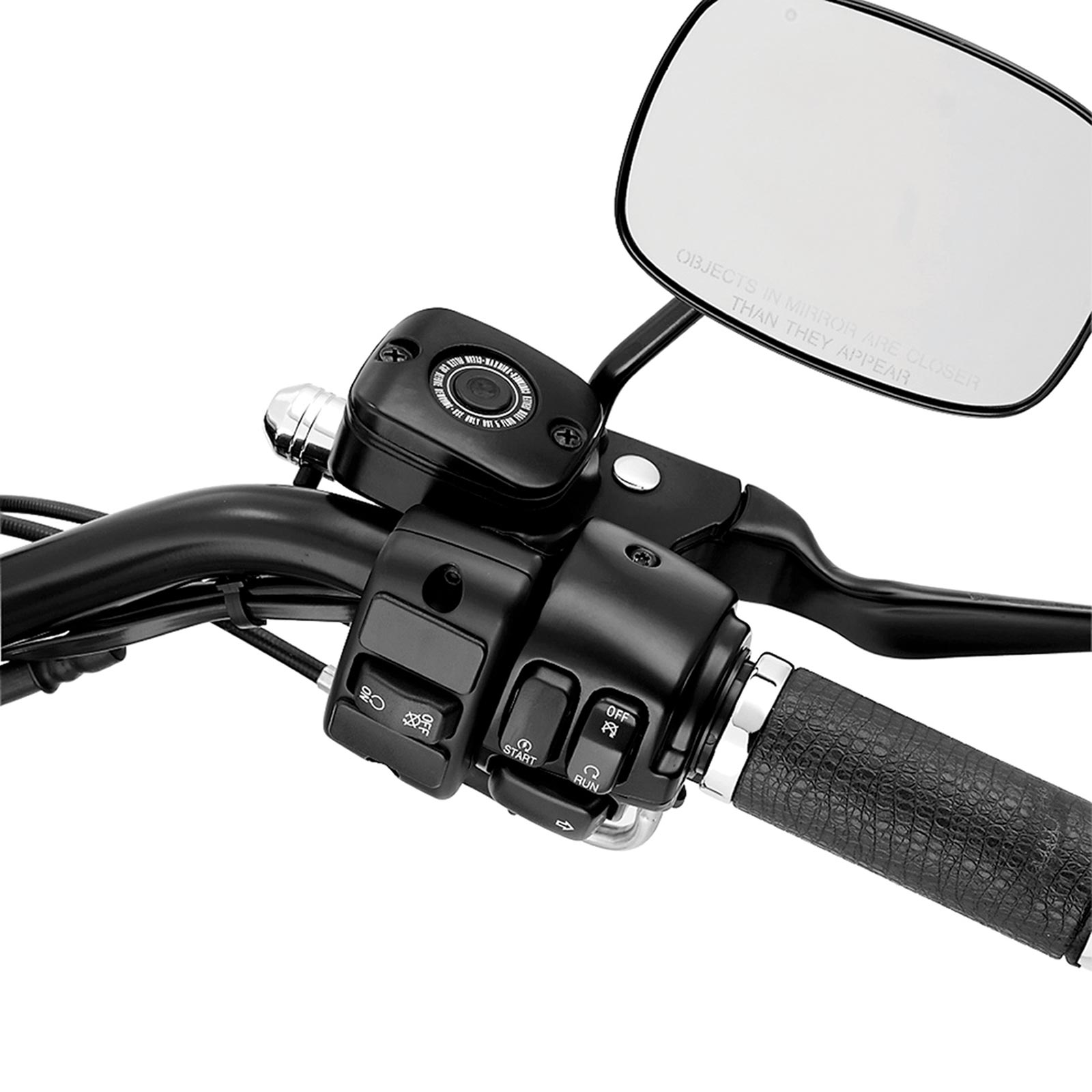 Auxiliary Accessory Switch Housing Kit left side, black