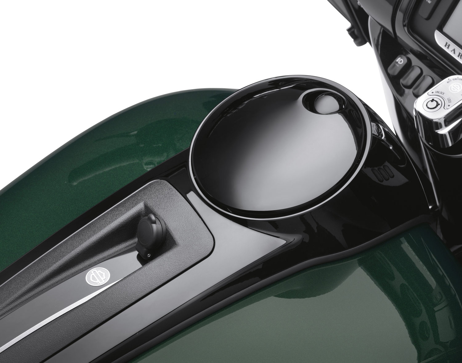 70900465 Fuel Tank Console Door Gloss Black At
