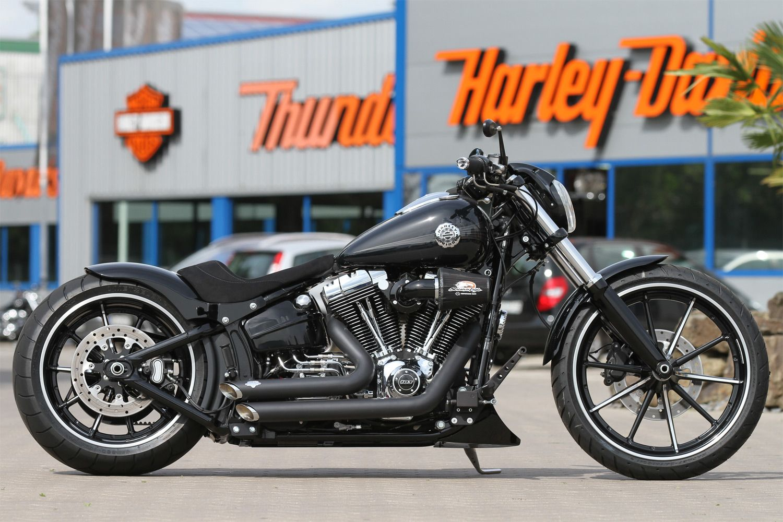 thunderbike 260mm steel heckfender f r softail breakout. Black Bedroom Furniture Sets. Home Design Ideas