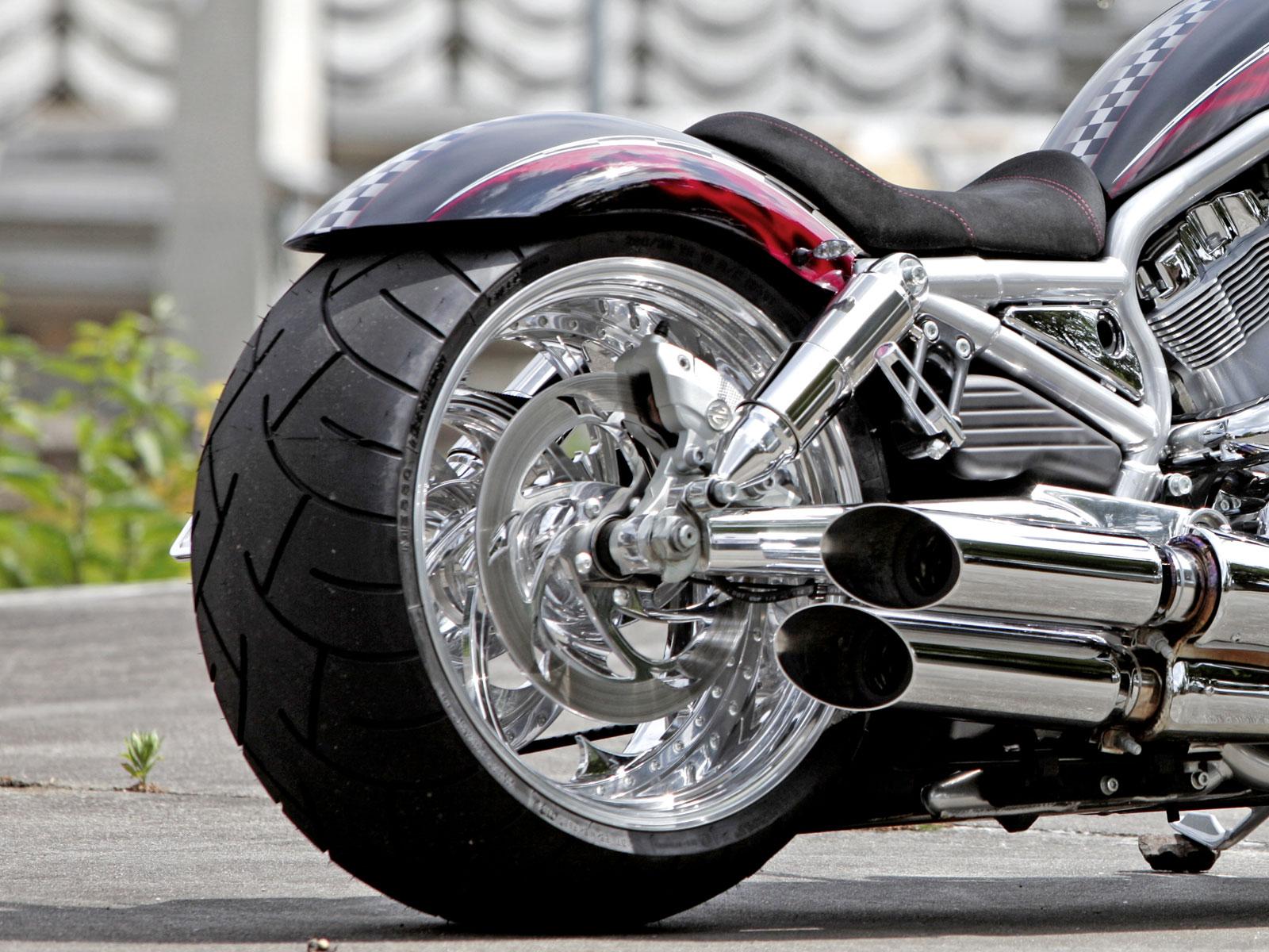 Thunderbike Rear Fender Recall 280mm For V Rod 02 06
