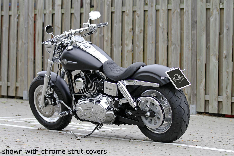 rear fender fatbob gfrp for dyna fat bob wide glide at thunderbike shop. Black Bedroom Furniture Sets. Home Design Ideas