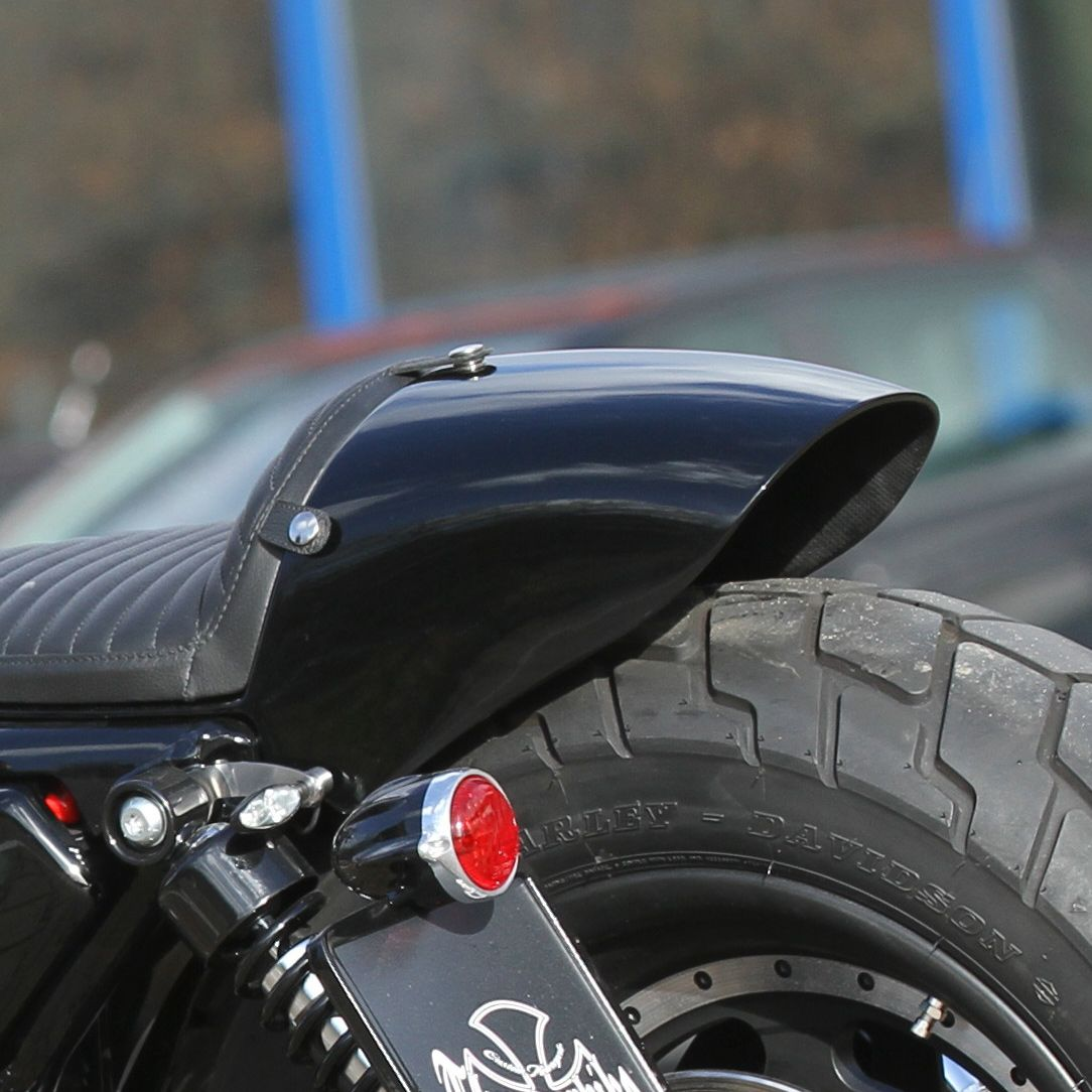 Rear Fender Kit Caf Racer For Sportster 04 Later At Thunderbike Shop Harley Davidson Wiring Harness 72 76 020