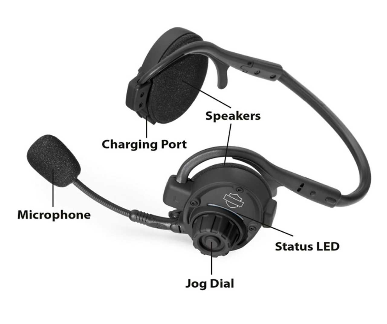 76000738 Boom Audio Sph10 Bluetooth Headset At Thunderbike Shop