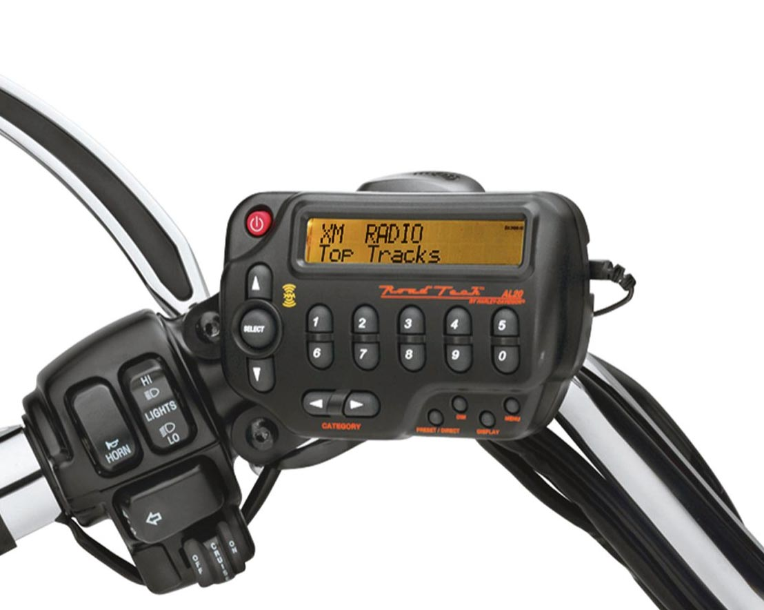 Harley Davidson Boom Audio Siriusxm Satellite Radio Kit