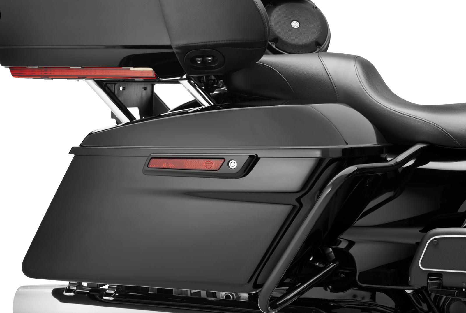 Harley Davidson Saddlebags >> Saddlebag Latch And Hinge Kit Gloss Black