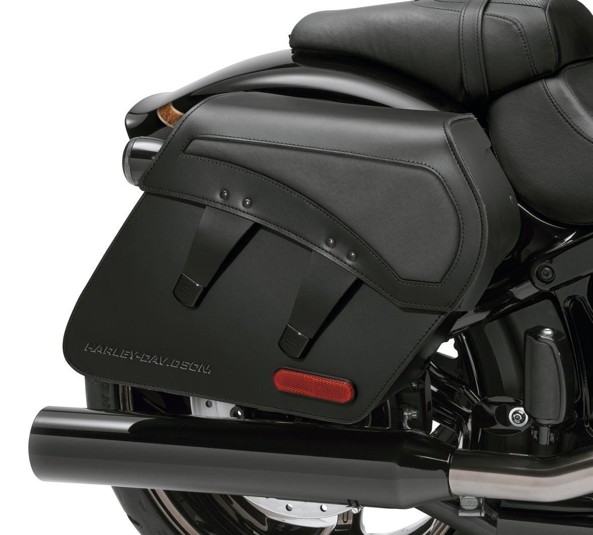 90201389 H-D Detachables Leder Satteltaschen im Thunderbike Shop