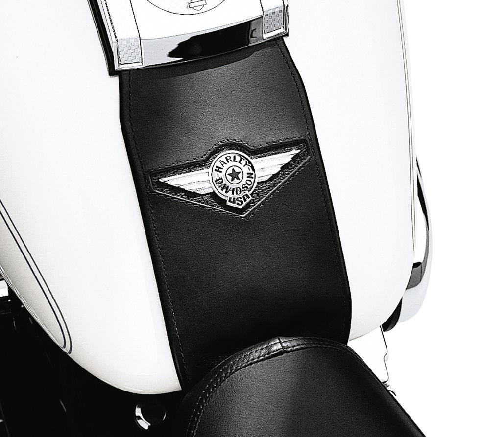 91134-01 Leder-Tankblende mit Fat Boy Concho im Thunderbike Shop