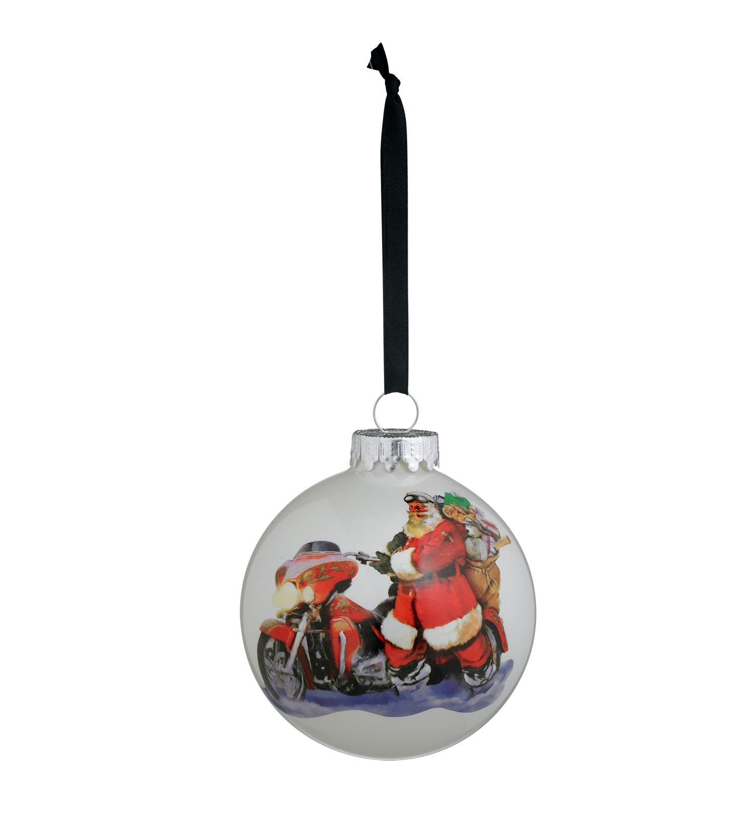 Christmas Tree Shops Union Nj: 96840-17V Harley-Davidson Ornament Ball X-Mas '16 At