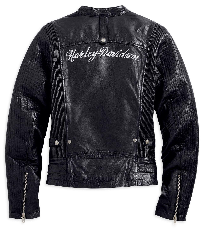 97034 15vw harley davidson women 39 s callie leather jacket at thunderbike shop. Black Bedroom Furniture Sets. Home Design Ideas