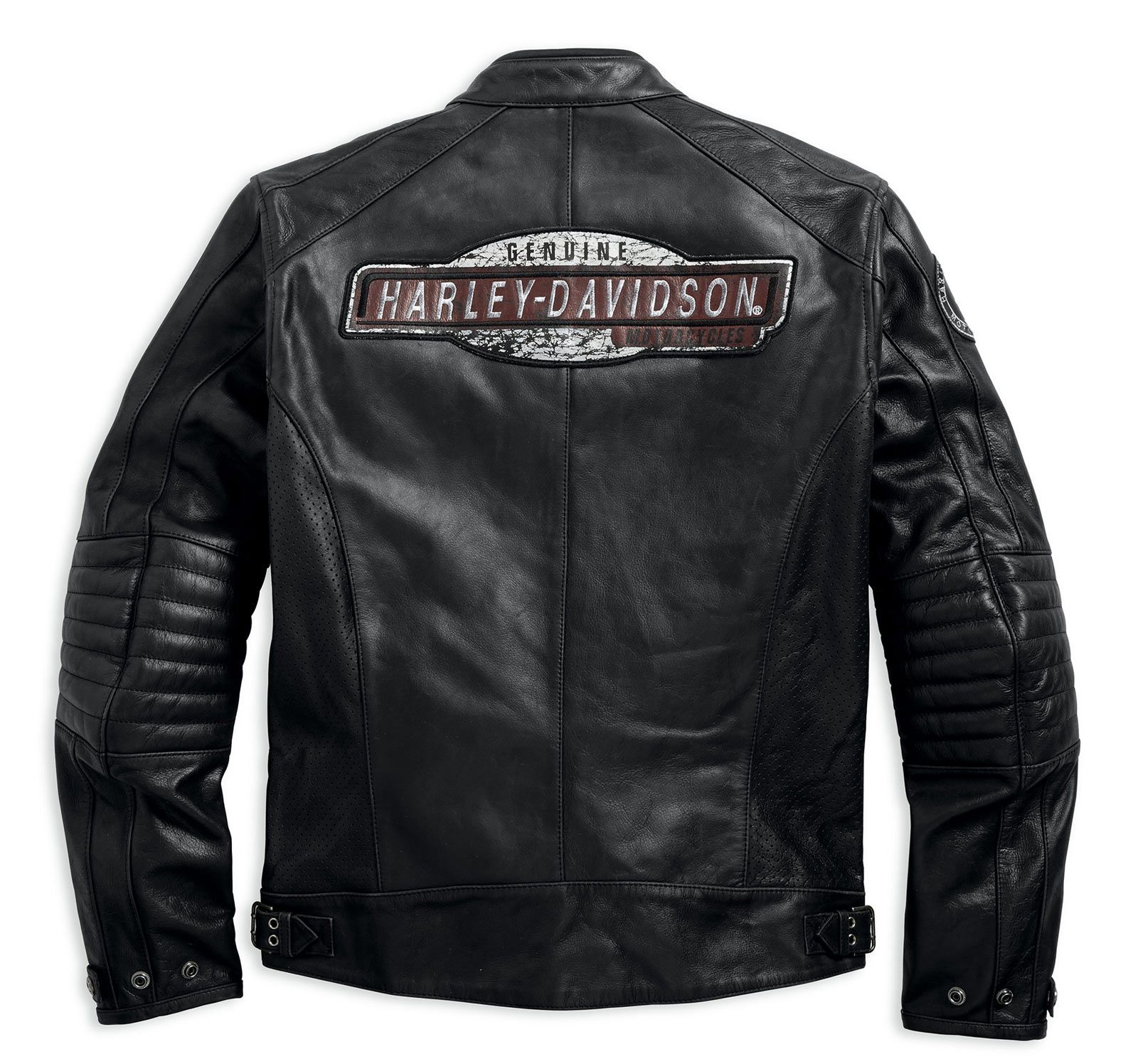 Harley davidson perforated leather jacket