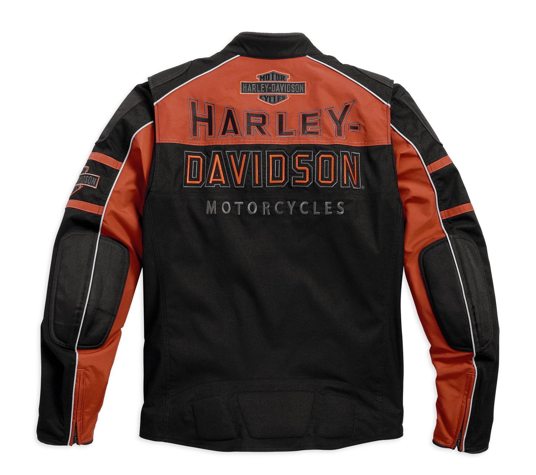 98112 16vm harley davidson jacke gastone riding im. Black Bedroom Furniture Sets. Home Design Ideas