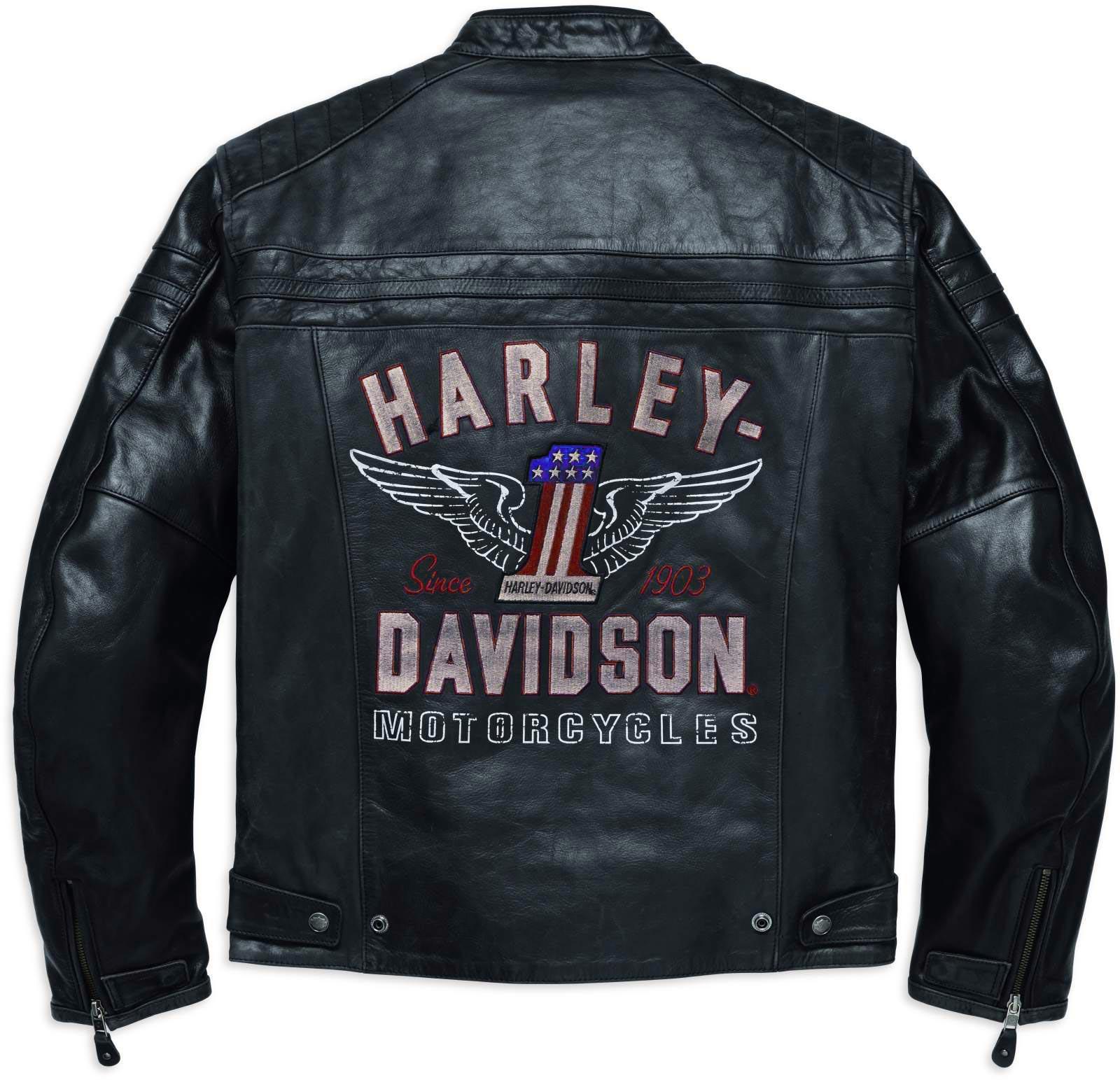 98121 17em harley davidson lederjacke 1 genuine classic im thunderbike shop. Black Bedroom Furniture Sets. Home Design Ideas