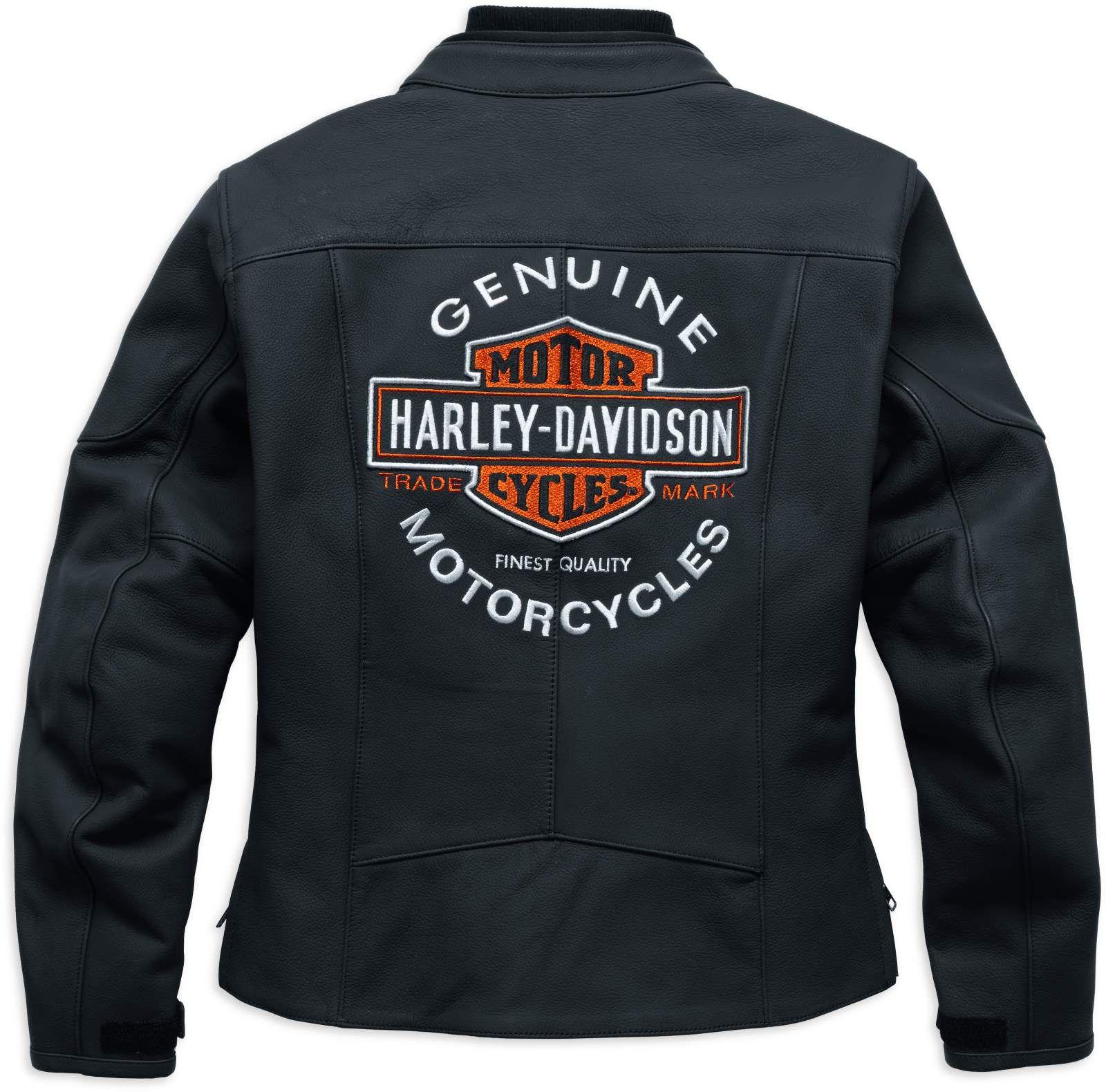 98131 17ew harley davidson legend leather jacket ec at. Black Bedroom Furniture Sets. Home Design Ideas