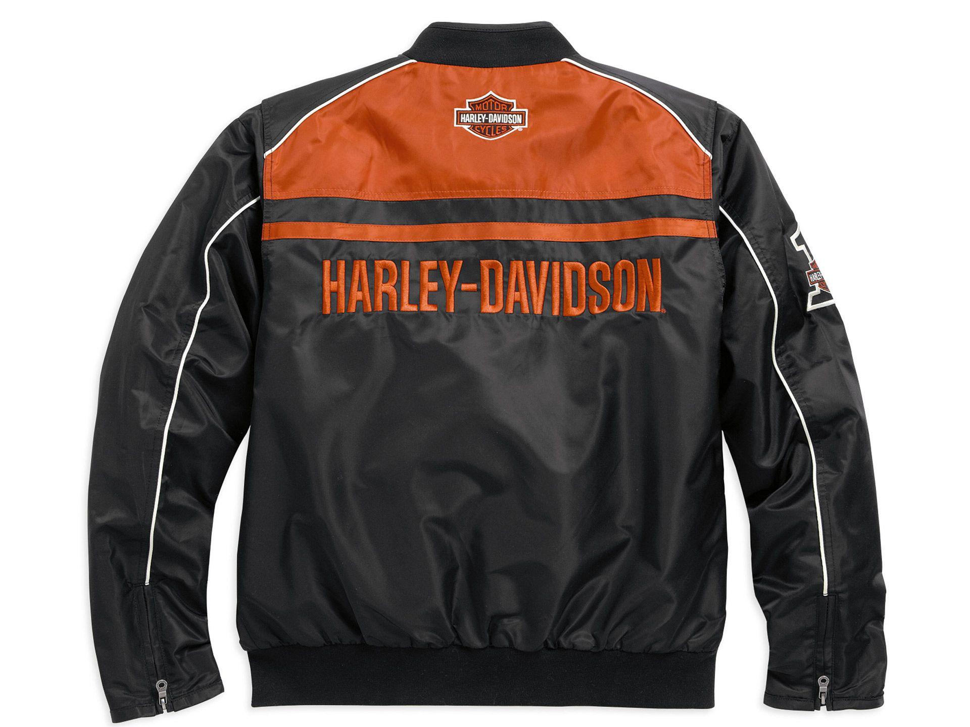 98553 15vm harley davidson nylon jacket moto ride at. Black Bedroom Furniture Sets. Home Design Ideas