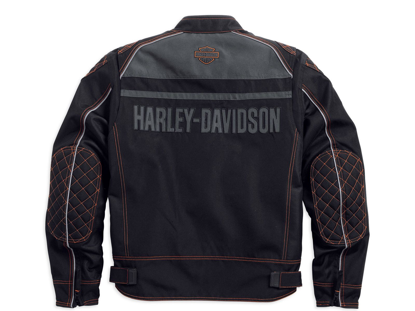 98554 14vm harley davidson tailgater textile mesh jacke. Black Bedroom Furniture Sets. Home Design Ideas