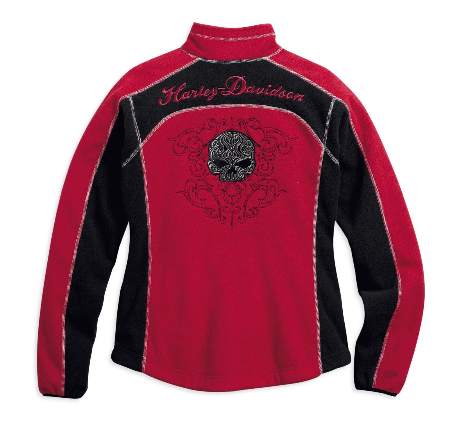 Harley Davidson Jacke Skull  In