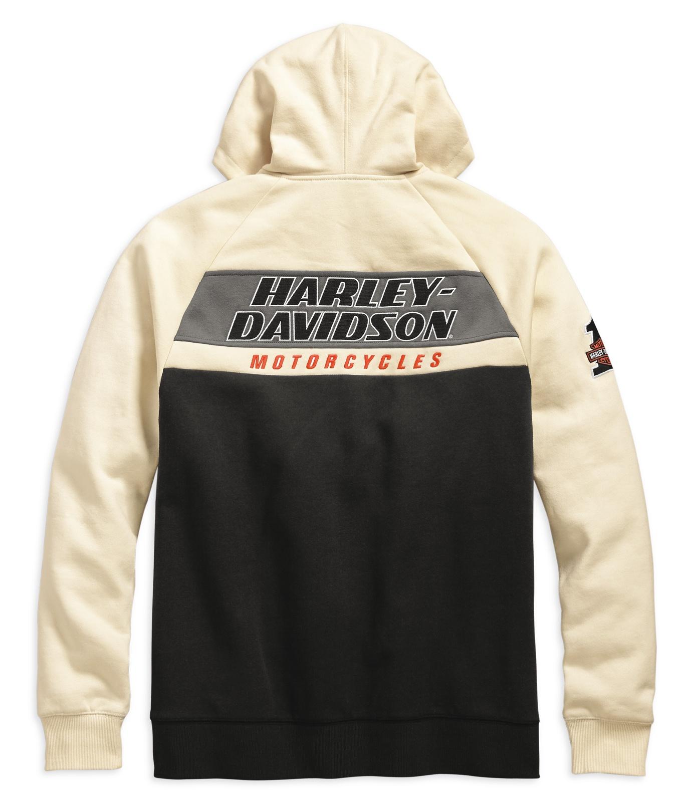 Harley Davidson Hoodie Racing extra lang