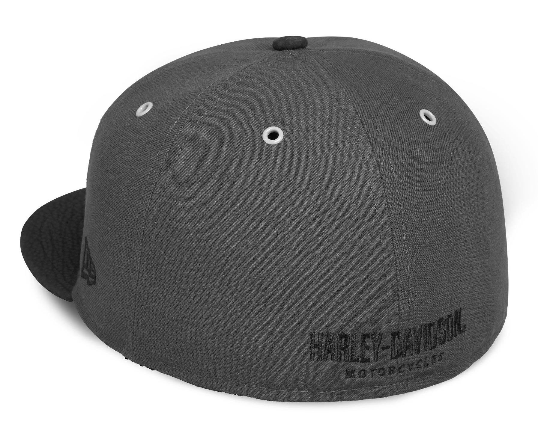 dc1ab3b09 ... H-D Motorclothes Harley-Davidson Men's Genuine Logo 59FIFTY® Cap grey -  99401- ...
