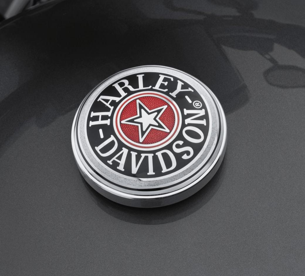 Original Harley-Davidson Tankdeckel-Medallion Cloisonnè     *99537-96A*