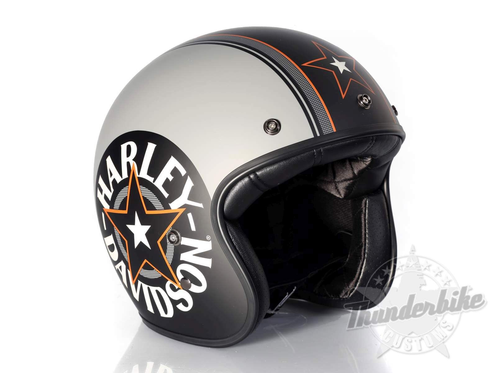 Ec 98320 15e Harley Davidson Grey Star Retro 3 4