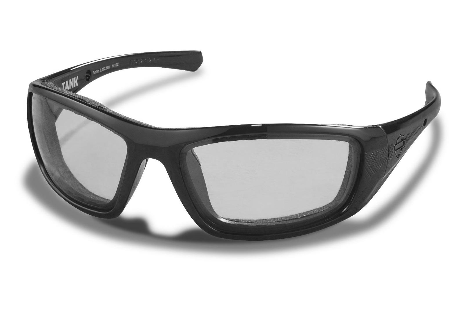 c23345d41c88 ... H-D Motorclothes Harley-Davidson Wiley X Glasses Tank LA, smoke grey /  matte black ...