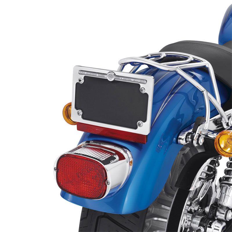 60969-10 Diamond Ice Nummernschildrahmen - Logo Oben im Thunderbike Shop