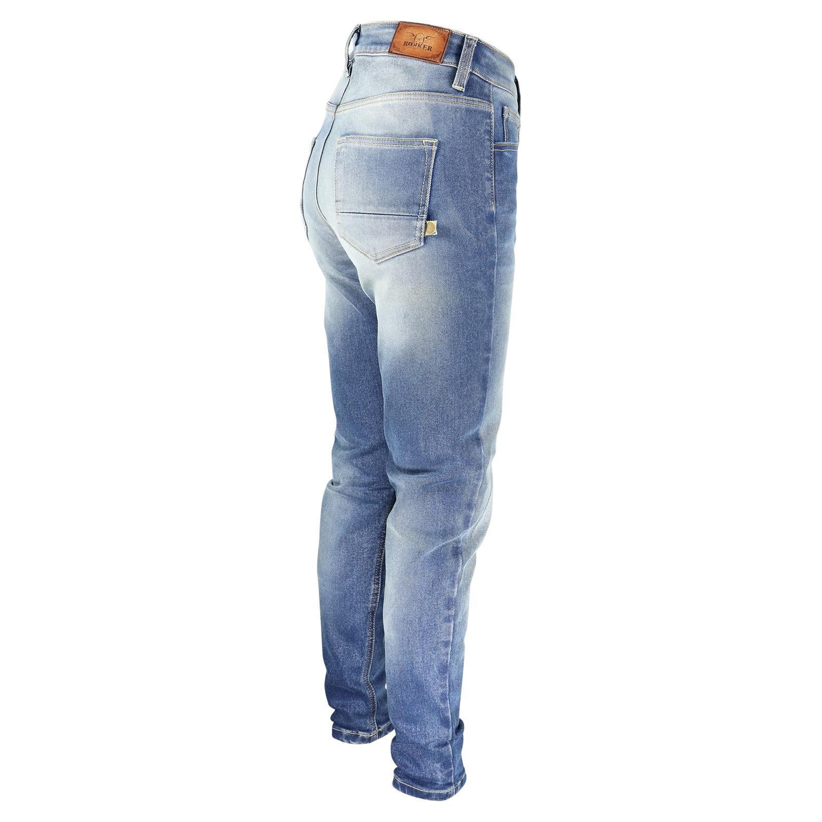 d5b7a56c23084 Rokker Rokkertech High Waist Damen Jeans - ROK2412 ...
