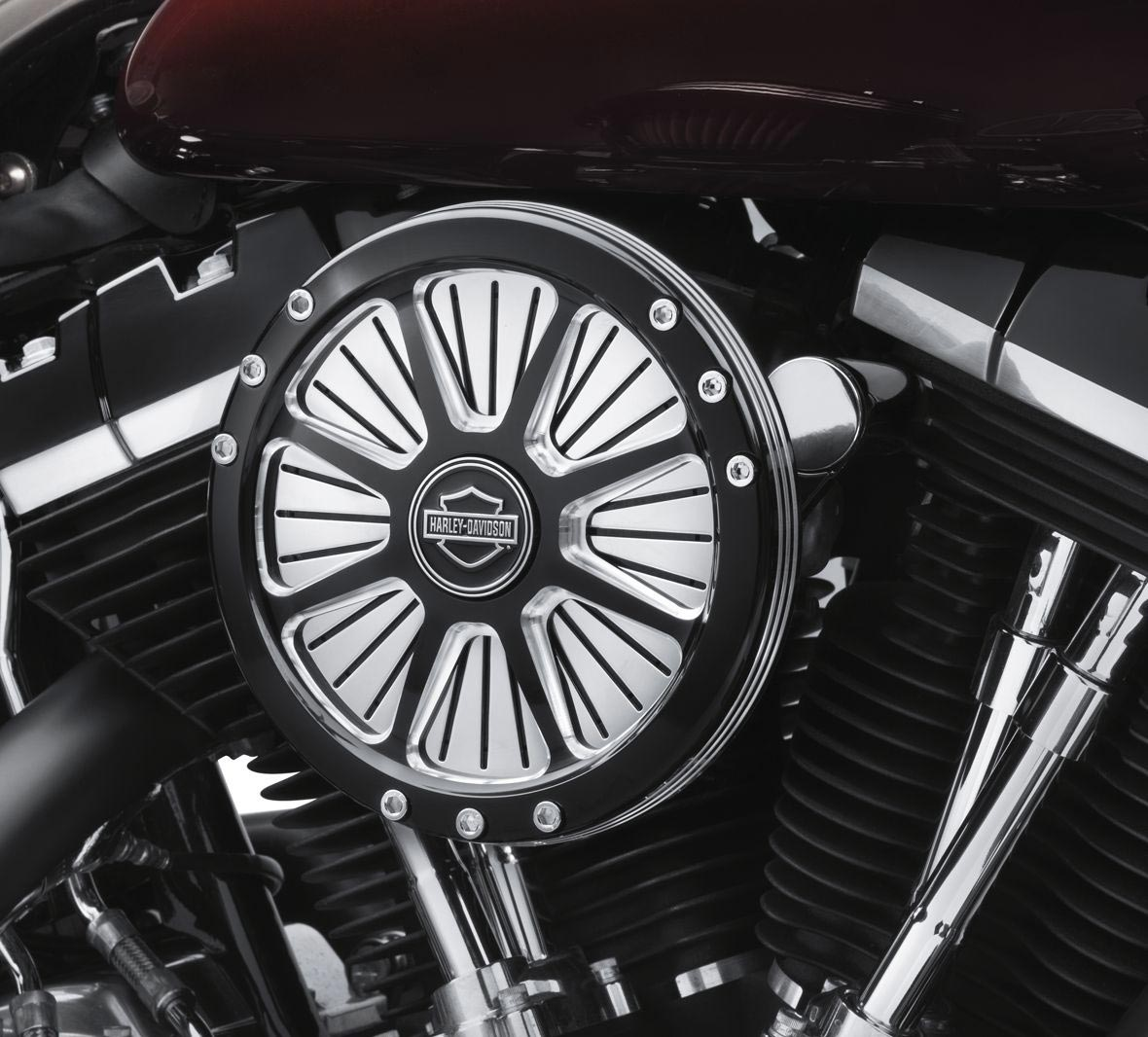 29400178 Burst Collection Screamin' Eagle Performance Air Cleaner Kit at Thunderbike Shop