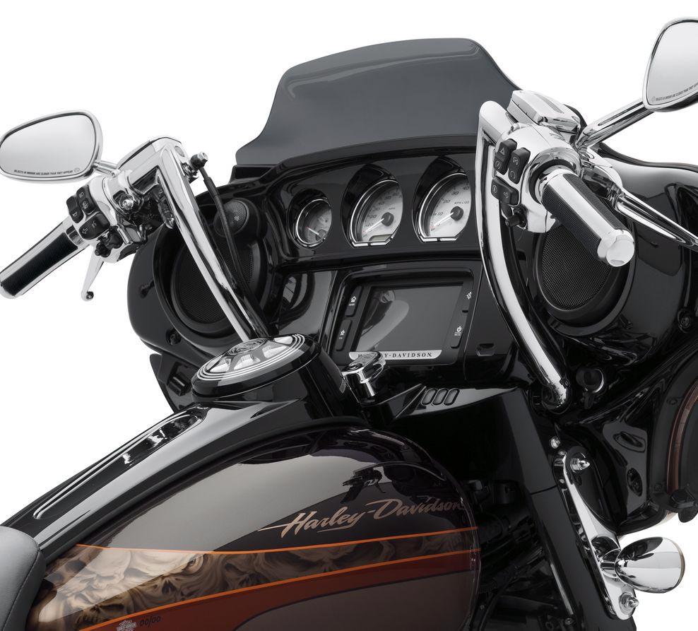 ... Harley-Davidson Batwing Chizeled Handlebar 12