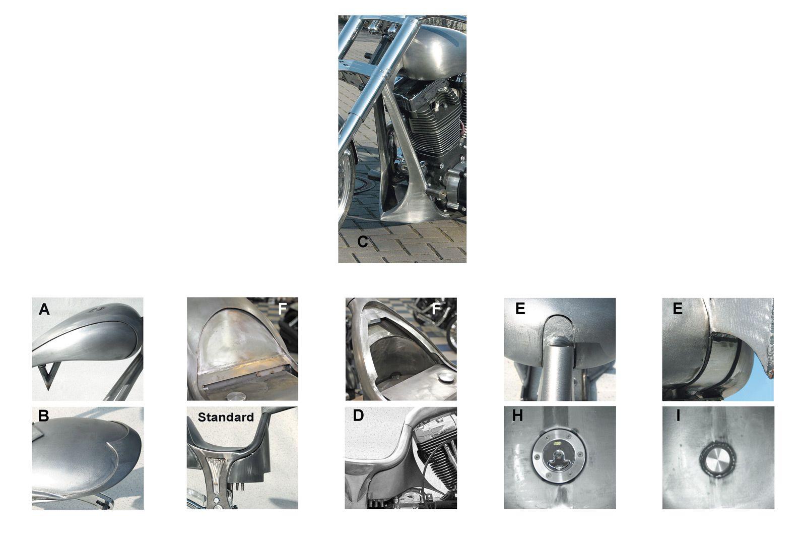 Rahmen-Kit Freestyle Over für Evo Style Motoren im Thunderbike Shop