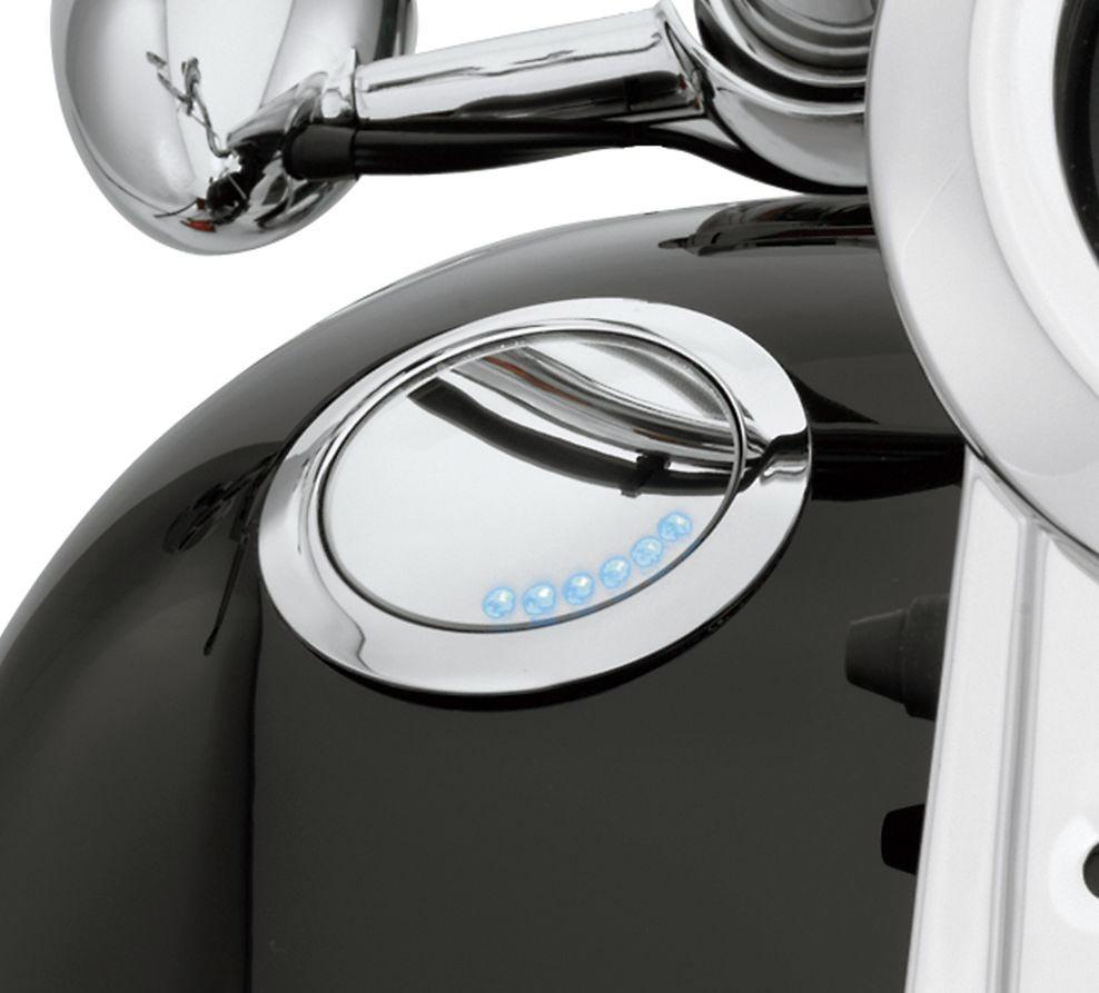 62811 08c Flush Mount Fuel Cap Amp Gauge Kit At Thunderbike Shop