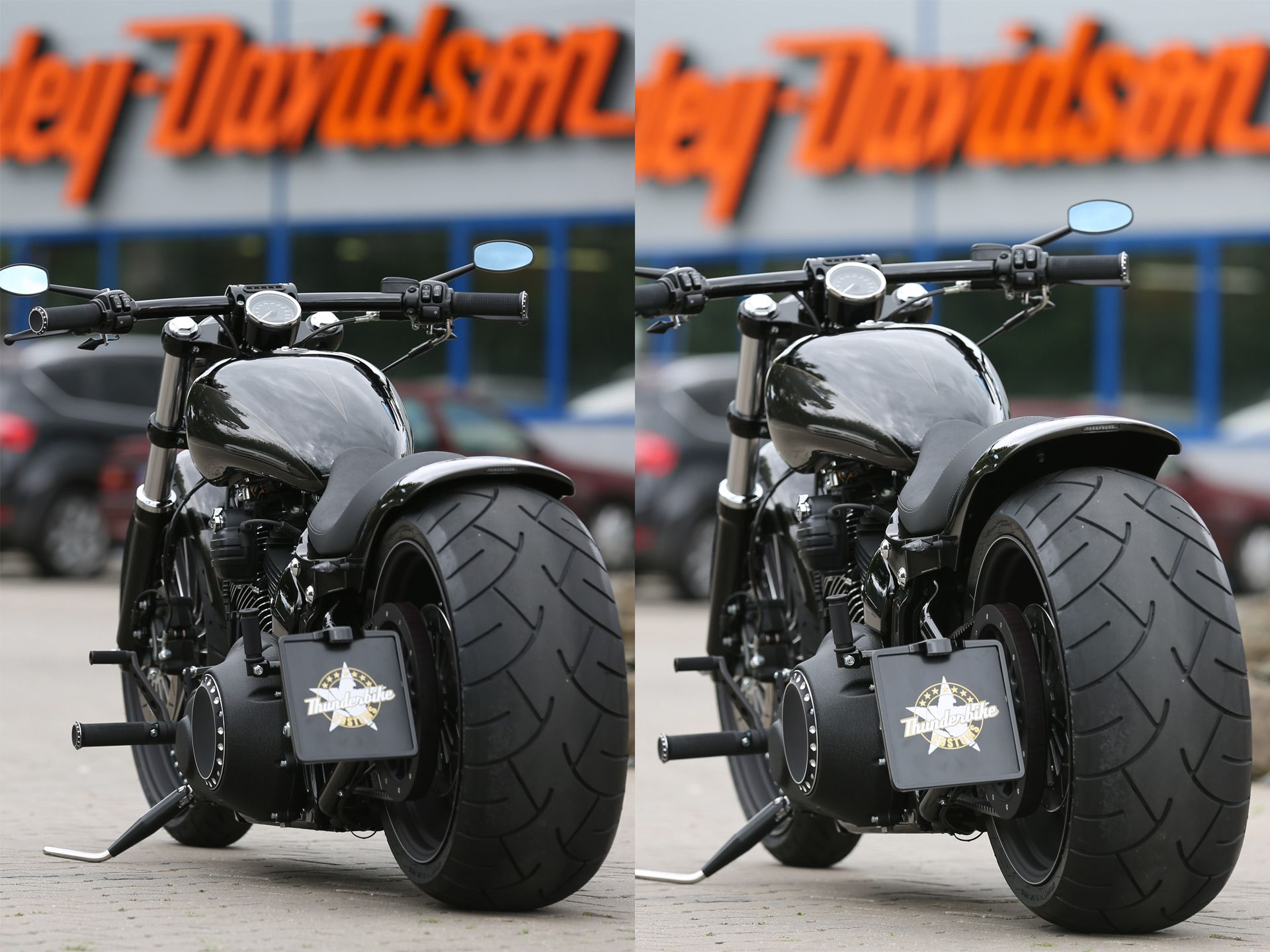 Thunderbike Air Ride Suspension Kit for Softail Breakout