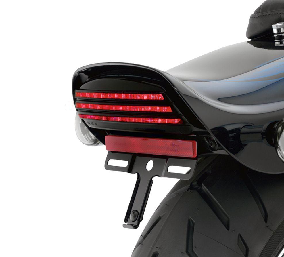 69817 07a tri bar led tail light smoked at thunderbike shop. Black Bedroom Furniture Sets. Home Design Ideas
