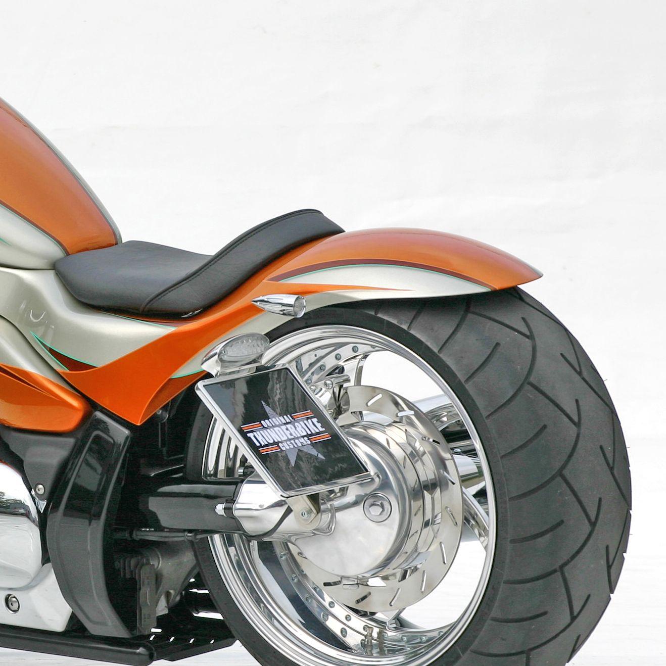 Rear fender Hardrace for M1800 at Thunderbike Shop