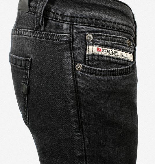 john doe kevlar damen jeans betty vintage schwarz im thunderbike shop. Black Bedroom Furniture Sets. Home Design Ideas
