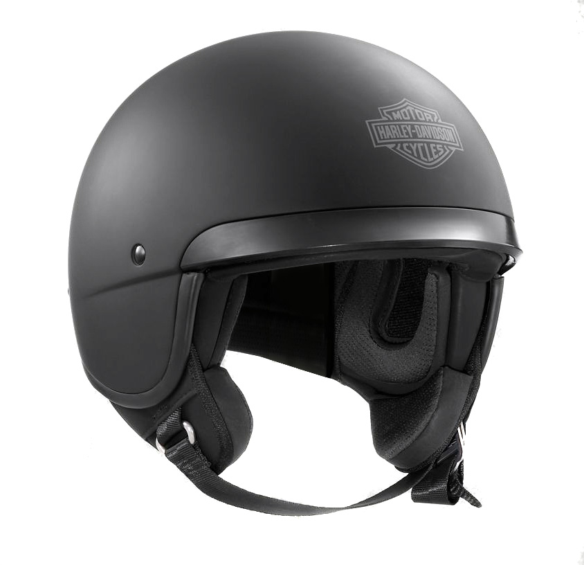 98180 17ex harley davidson hightail 5 8 helm matt schwarz for Best helmet for motor scooter