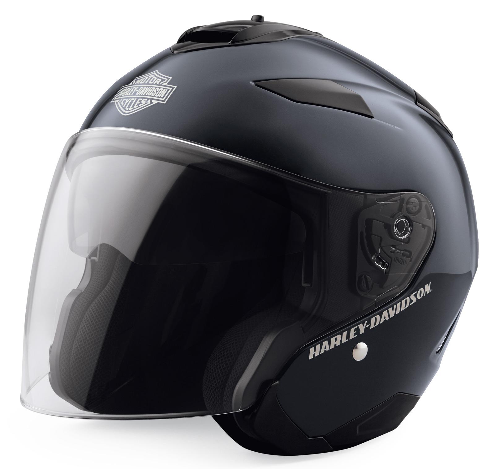 2ade095df 98361-19EX Harley-Davidson 3/4 Helmet Maywood H27 at Thunderbike Shop