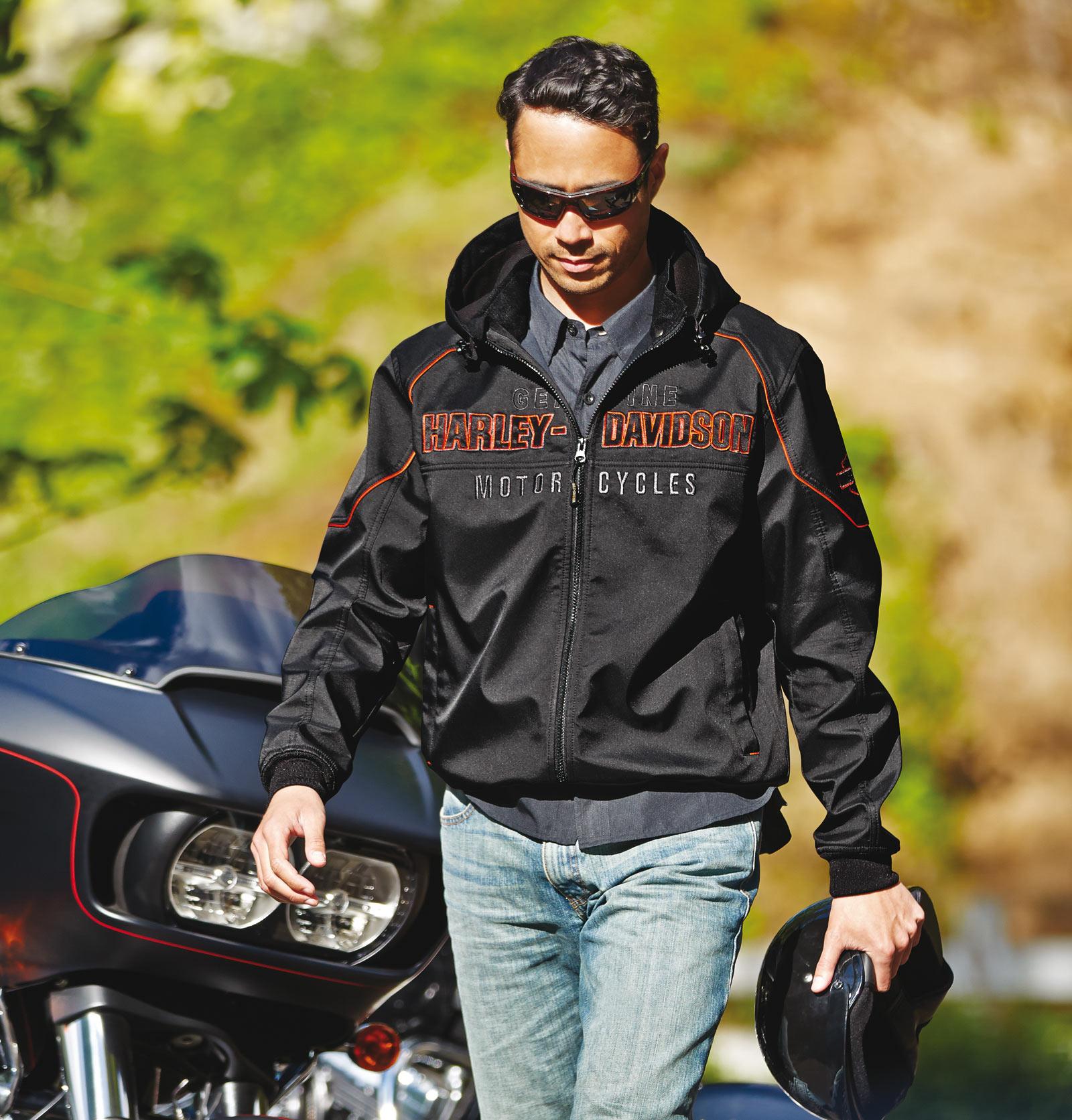 98555 15VM Harley Davidson Soft Shell Jacke Idyll