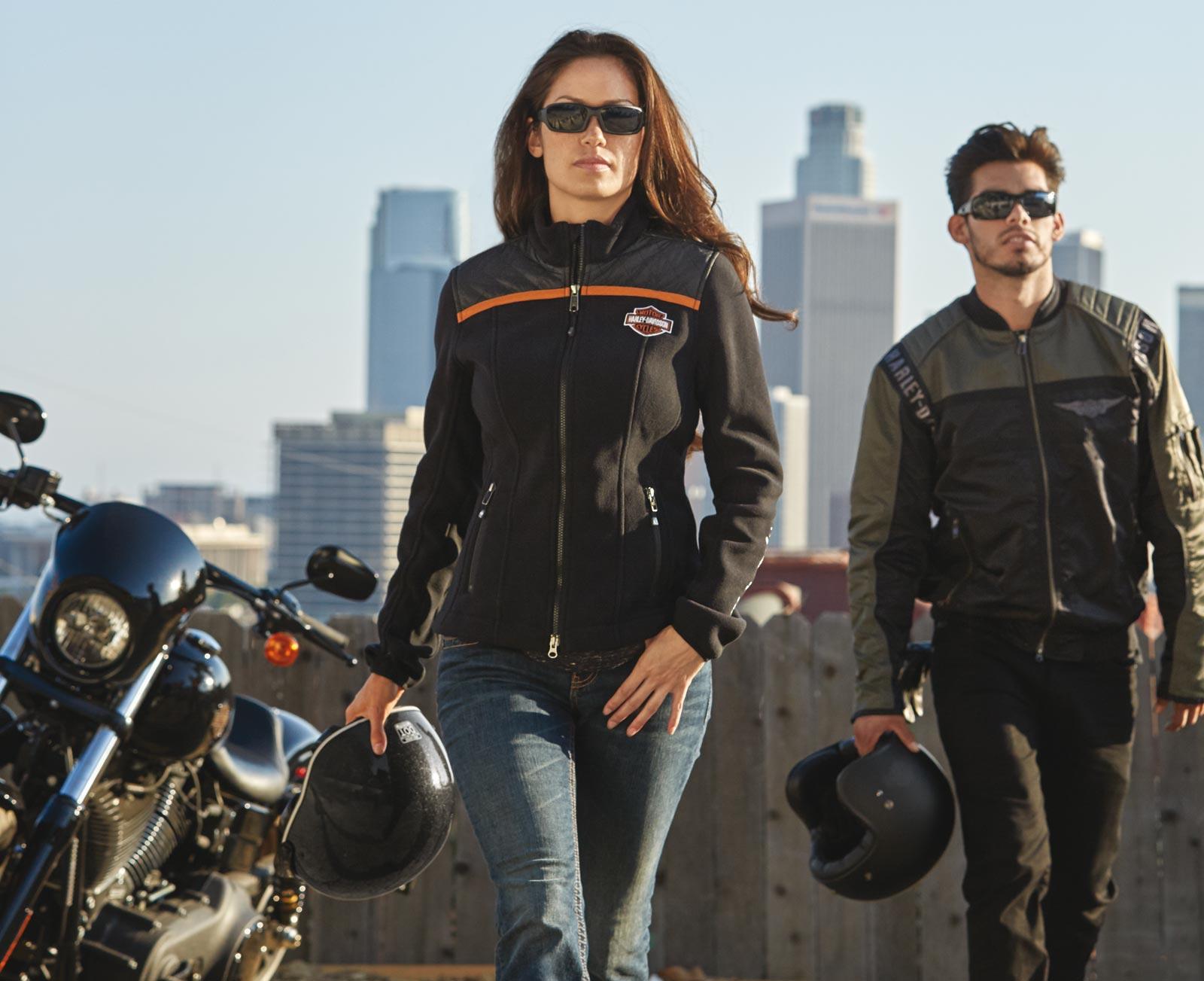 Fleece Davidson Enthusiast Jacket Miss Harley zSpqMVU