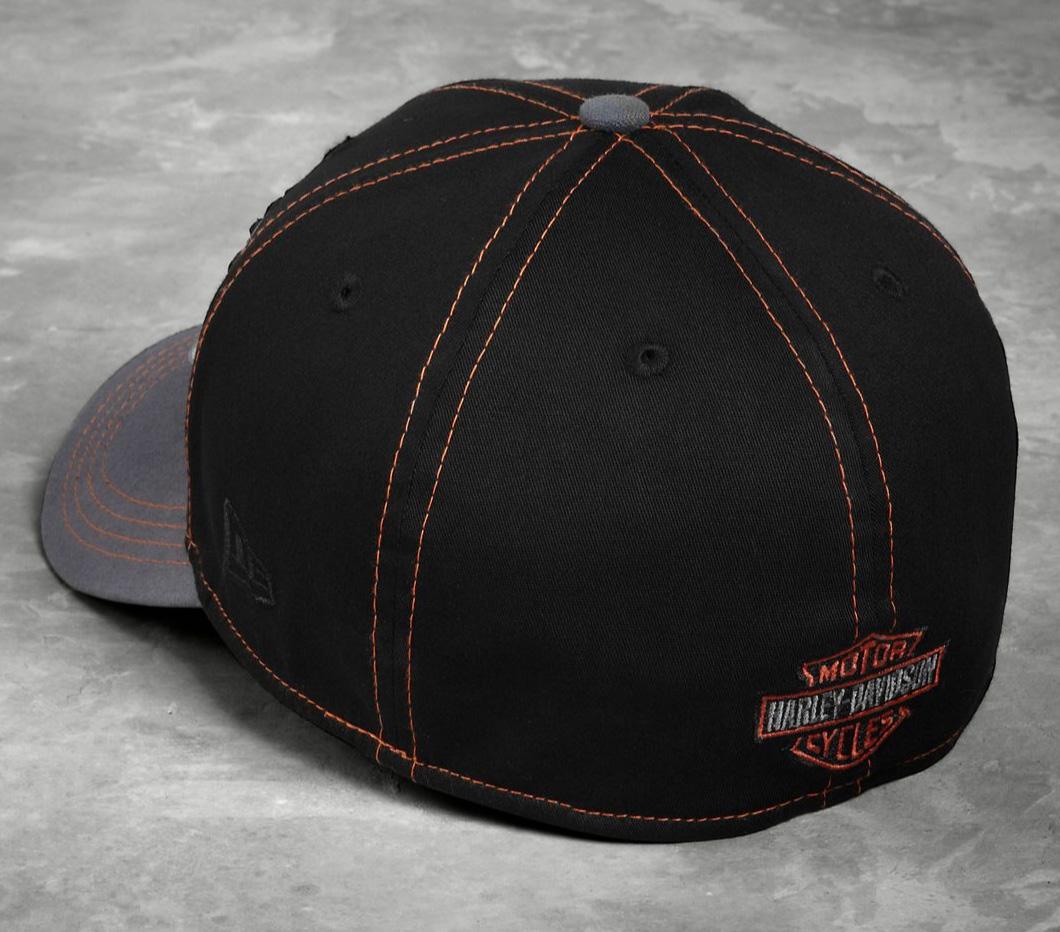 d1ee230b3fd H-D Motorclothes Harley-Davidson Colorblock 39THIRTY Cap - 99446-16VM ...